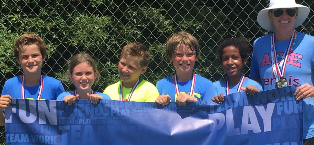 tennis play days for kids